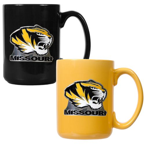 Great American Products University of Missouri 15 oz. Coffee Mugs 2-Pack