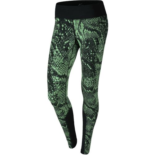 nike women 39 s printed dri fit epic run lux tight academy. Black Bedroom Furniture Sets. Home Design Ideas
