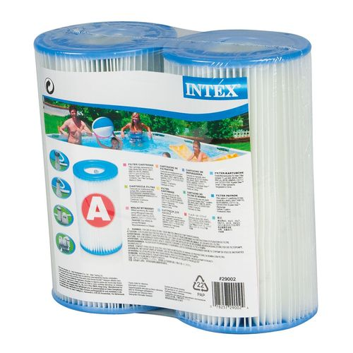 Display product reviews for INTEX Type A Filter Cartridge 2-Pack