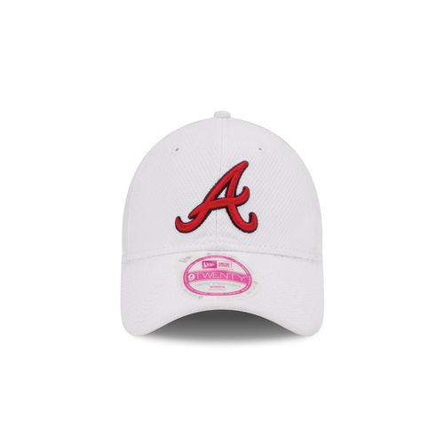New Era Women's Atlanta Braves Tech Essential Diamond Era 9TWENTY Adjustable Cap