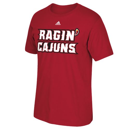 adidas Men's University of Louisiana at Lafayette Perpetual Team Font T-shirt