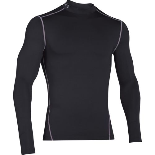 Under Armour Men's ColdGear Armour Compression Mock Baselayer Shirt - view number 1