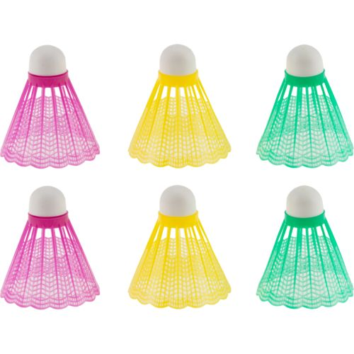 Superior™ Neon Shuttlecocks 6-Pack