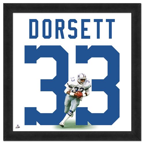 Photo File Dallas Cowboys Tony Dorsett #33 UniFrame 20