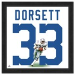 "Photo File Dallas Cowboys Tony Dorsett #33 UniFrame 20"" x 20"" Framed Photo"