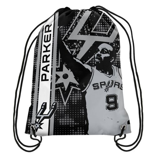 NBA San Antonio Spurs Tony Parker #9 Elite Drawstring Backpack
