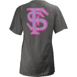 Three Squared Women's Florida State University Lined Chevron T-shirt
