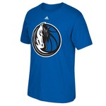 adidas™ Men's Dallas Mavericks Tip-Off Huge Preferred Logo T-shirt