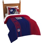 The Northwest Company New York Giants Twin Comforter and Sham Set