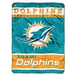 The Northwest Company Miami Dolphins 12th Man Raschel Throw