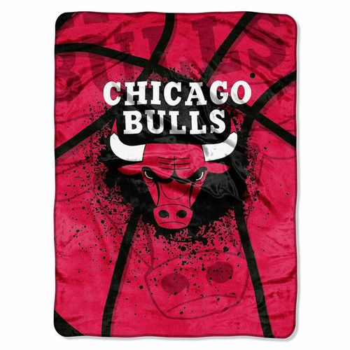 The Northwest Company Chicago Bulls Shadow Play Super Plush Throw