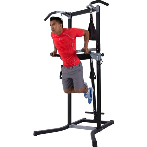 Body Power Deluxe Multifunctional Power Tower