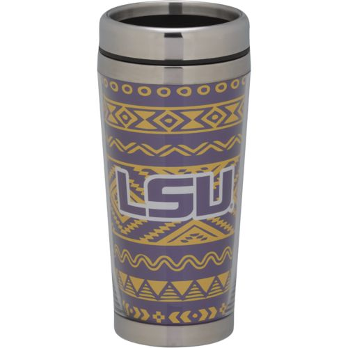 The Fanatic Group Louisiana State University 16 oz. Stainless-Steel Tumbler