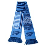 Team Beans Adults' Oklahoma City Thunder Reversible Ugly Scarf