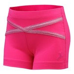 Capezio® Girls' Future Star Upstage Cross Front Short