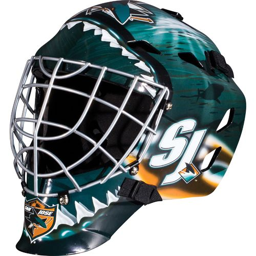 Franklin Boys' San Jose Sharks GFM 1500 Goalie Face Mask