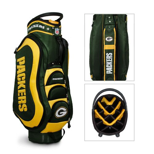 Team Golf Green Bay Packers Medalist 14-Way Golf Cart Bag