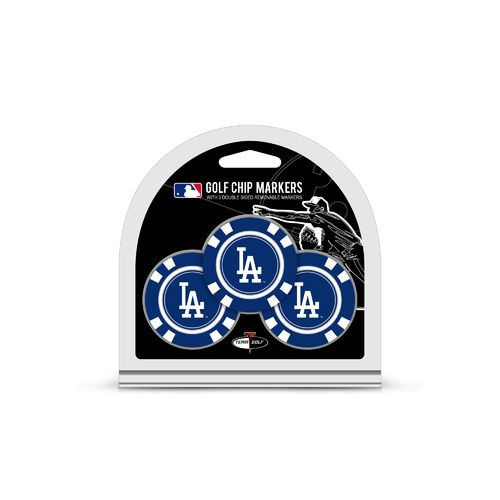 Team Golf Los Angeles Dodgers Poker Chip and Golf Ball Marker Set - view number 1