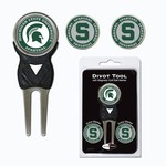 Team Golf Michigan State University Divot Tool and Ball Marker Set