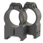Warne Maxima/Magnum Permanent 1 in High Fixed Scope Mount Rings - view number 1
