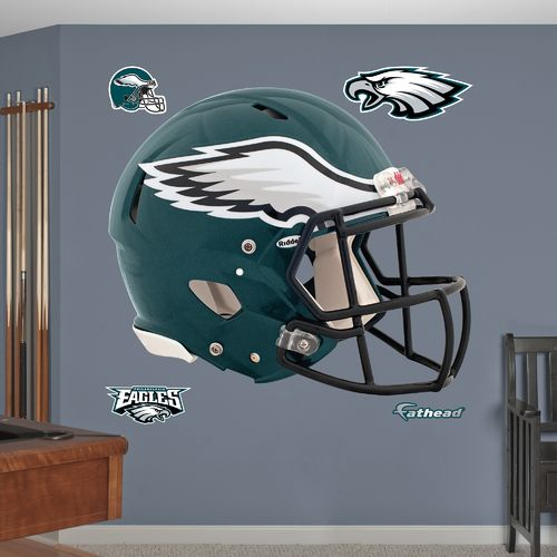 Fathead Philadelphia Eagles Real Big Helmet Decal