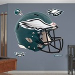 Fathead Philadelphia Eagles Real Big Helmet Decal - view number 1