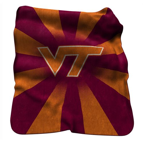 Logo Virginia Tech Raschel Throw