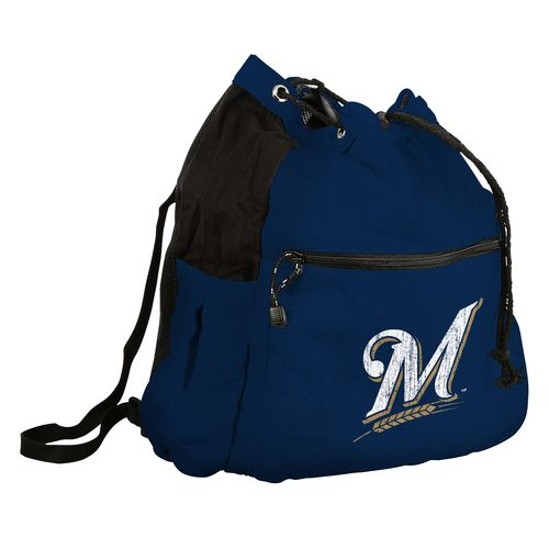 Logo™ Milwaukee Brewers Sport Pack Cinch String Bag
