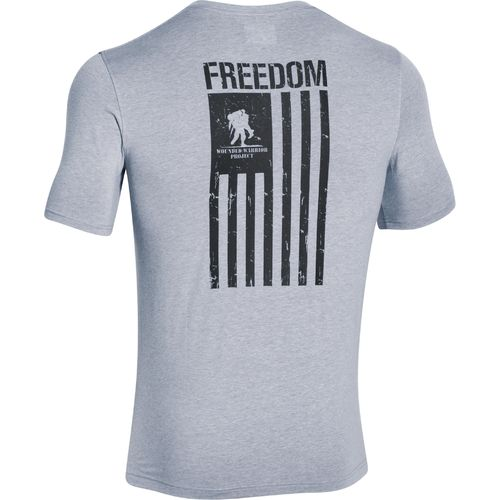 Display product reviews for Under Armour Men's Wounded Warrior Project Freedom Flag T-shirt