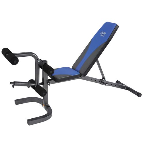 Pure Fitness Adjustable FID Flat/Incline/Decline Weight Bench - view number 5