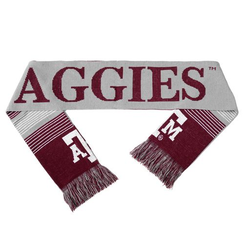 Forever Collectibles™ Adults' Texas A&M University Reversible Split Logo Scarf