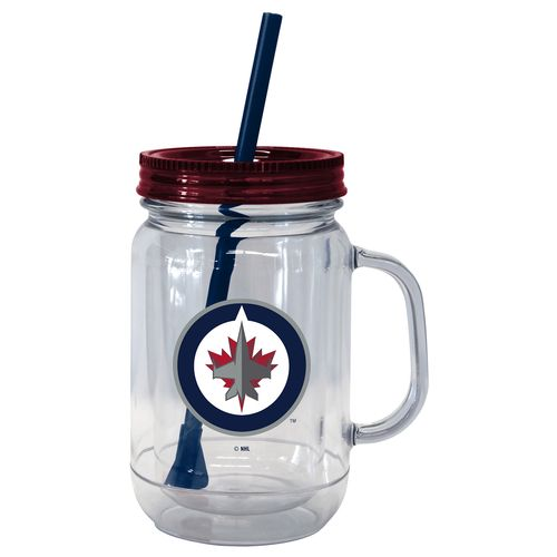 Boelter Brands Winnipeg Jets 20 oz. Handled Straw Tumblers 2-Pack