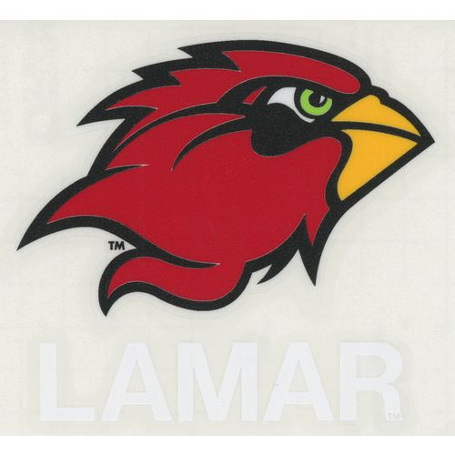 "Stockdale Lamar University 4"" x 7"" Decals 2-Pack"