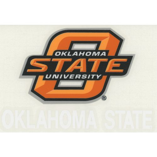 "Stockdale Oklahoma State University 4"" x 7"" Decals 2-Pack"