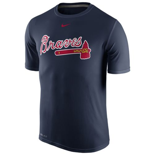 Nike Men's Atlanta Braves Legend Wordmark T-shirt