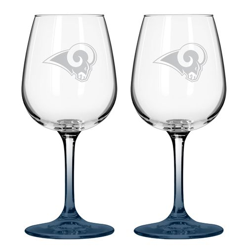 Boelter Brands St. Louis Rams 12 oz. Wine Glasses 2-Pack