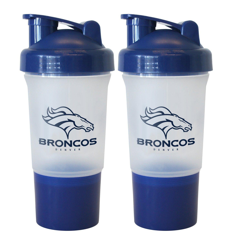 Boelter Brands Denver Broncos 16 oz. Protein Shakers