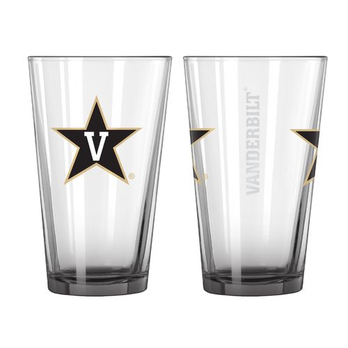 Boelter Brands Vanderbilt University Elite 16 oz. Pint Glasses 2-Pack