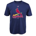 Majestic Boys' St. Louis Cardinals Primary Logo T-shirt