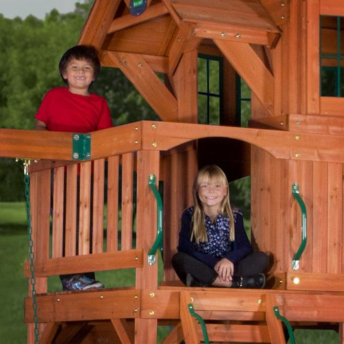 Backyard Discovery™ Liberty II Wooden Swing Set - view number 7