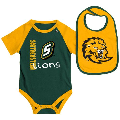 Display product reviews for Colosseum Athletics Infants' Southeastern Louisiana University Rookie Onesie and Bib Set