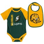 Colosseum Athletics Infants' Southeastern Louisiana University Rookie Onesie and Bib Set - view number 1