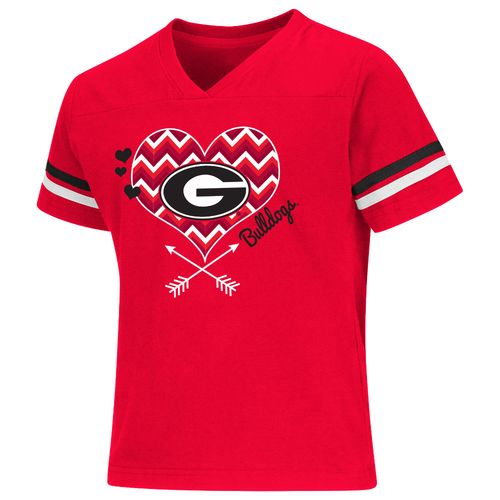 Colosseum Athletics Girls' University of Georgia Football Fan T-shirt