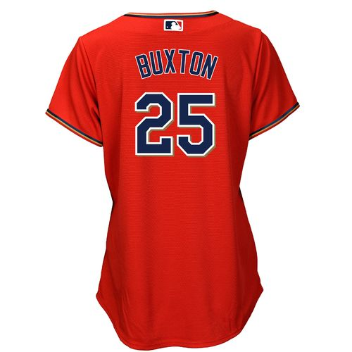 Majestic Women's Minnesota Twins Byron Buxton #25 Cool Base® Replica Alternate Jersey