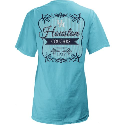 Three Squared Juniors' University of Houston Flora T-shirt