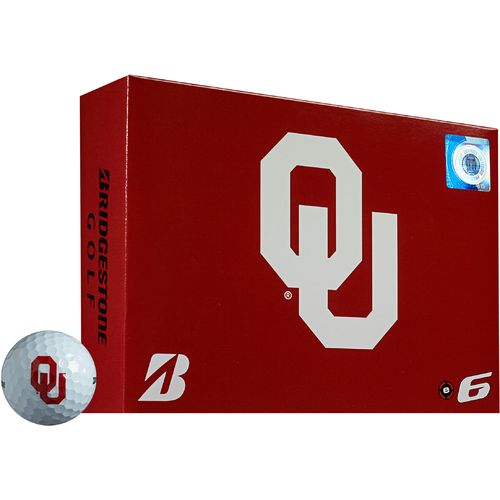 Bridgestone Golf University of Oklahoma e6 Golf Balls 12-Pack