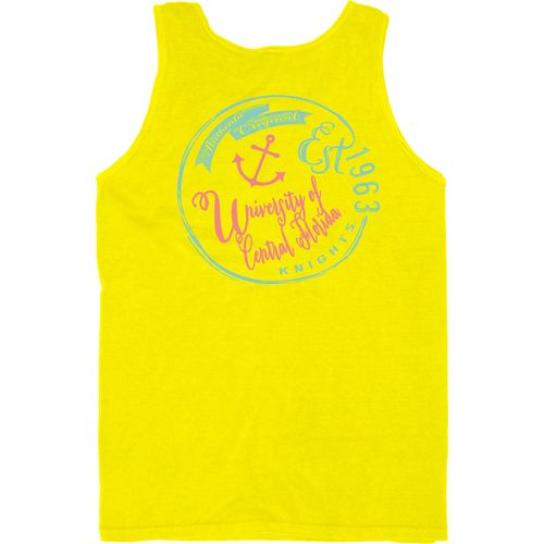Blue 84 Men's University of Central Florida Overdyed Neon Tank Top