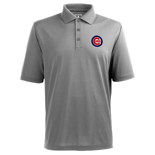 Antigua Men's Chicago Cubs Piqué Xtra-Lite Polo Shirt