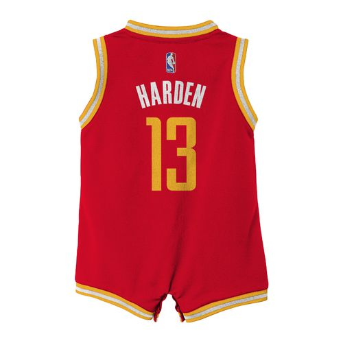 adidas™ Infants' Houston Rockets James Harden #13 Onesie Jersey