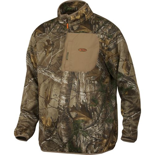 Drake Waterfowl Men's Nontypical Endurance 1/4 Zip Fleece Pullover